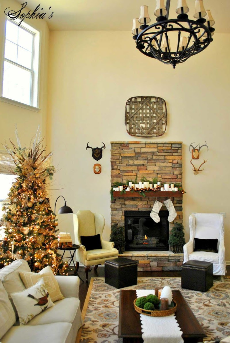 30 Christmas Decoration For Living Room Inspirations - Flawssy