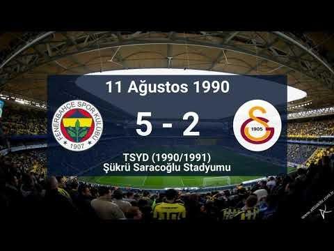Tarihteki En Gollü Fenerbahçe - Galatasaray Maçları