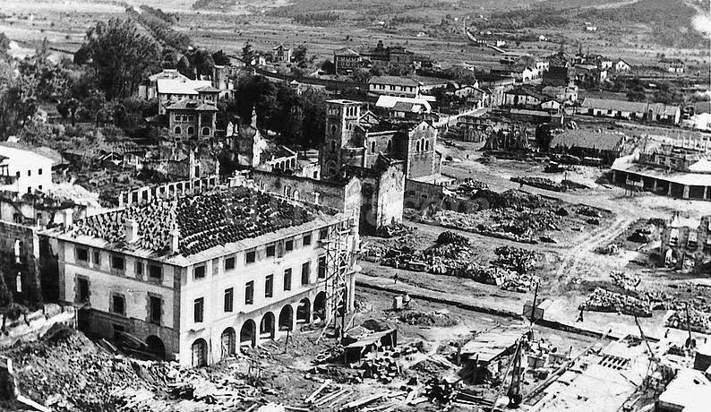Se cumplen 79 años del bombardeo nazi a la ciudad vasca de Guernica