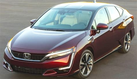 honda clarity fuel cell redesign concept car  release