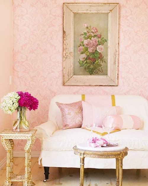 The Sketchy Reader: Lovely Romantic Rooms *le sigh*