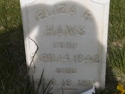 Eliza Rebecca <i>Scovil (McArthur)</i> Haws