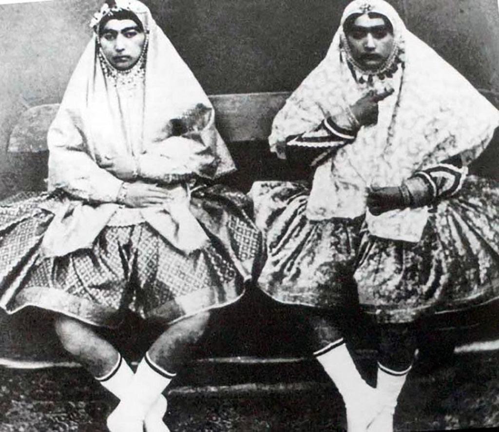 Assim eram as 100 concubinas do harém do Xá de Pérsia no Século XIX 08