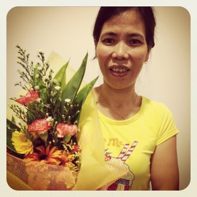 My lovely mum! :)  (Taken with instagram)