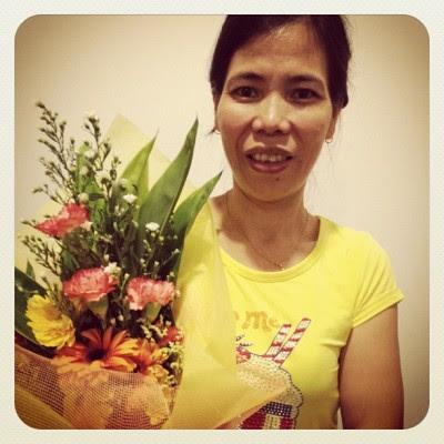 My lovely mum! :)  (Taken with instagram)
