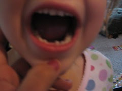 Isabelle first lost tooth