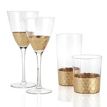 chisel-glassware-set-of-4-gold-062535229