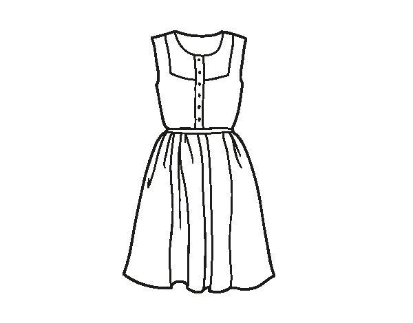 Vestidos Para Dibujar Faciles De Moda