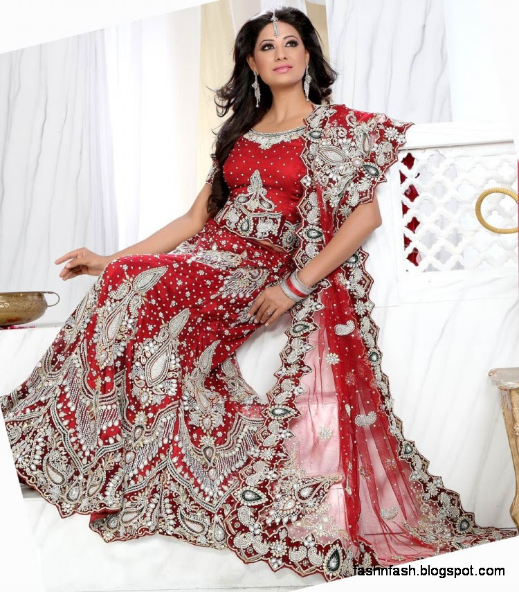 Bridal-Brides-Wedding-Dress-Beautiful-Indian-Bridal-Valima-Lehanga-Choli-Collection-1