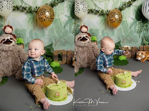 Baby J   Jungle Cake Smash   Marlborough, CT Cake Smash