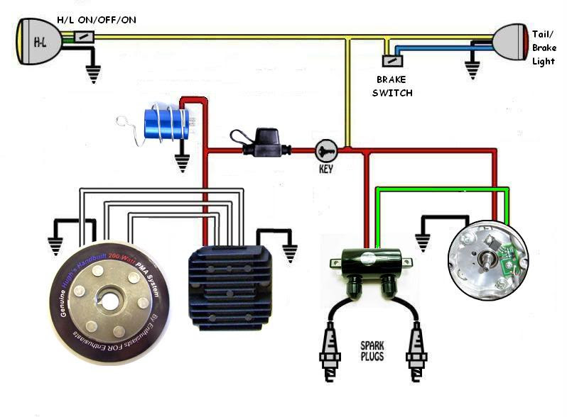 Wiring From Scratch Judge My Diagram Yamaha Xs650 Forum