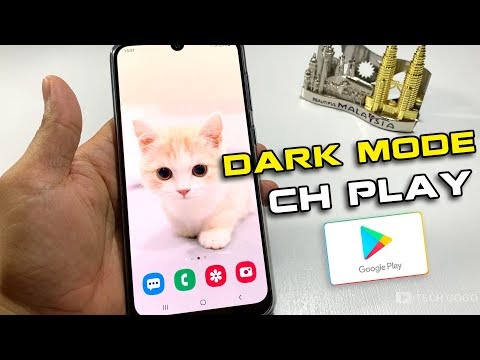Cách cài chế độ Dark Mode cho cửa hàng Ch Play