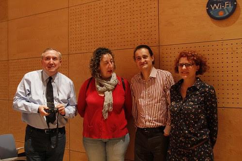 Mesa de TransMedia de la I Jornada #Blogeu 2012