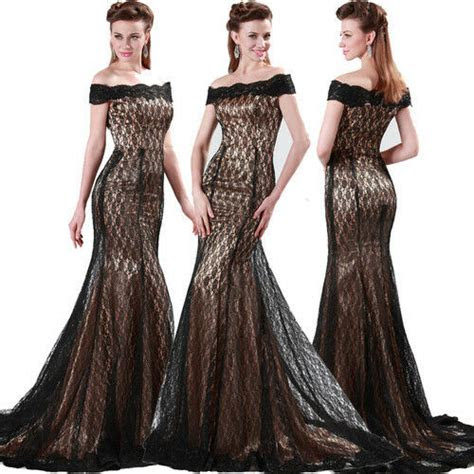 mermaid style vintage  eveningformalball gownparty