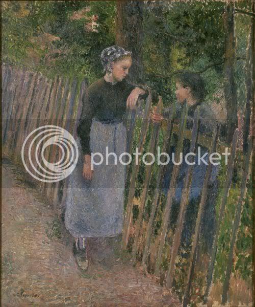 Camille Pissarro - Conversation