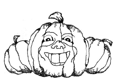 Disegno Di Zucca Di Halloween Da Colorare Disegni Da Colorare E