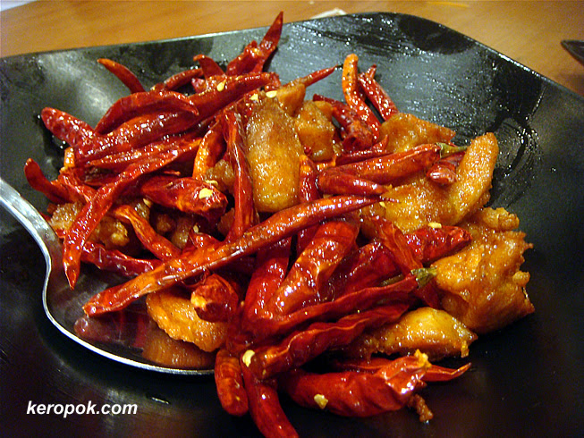 Chicken with Dried Chilli