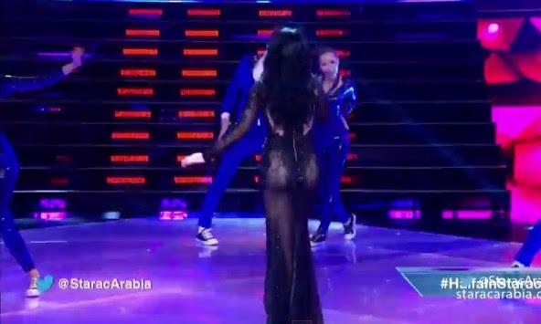 `Εγκεφαλικό` οι Λιβανέζοι τηλεθεατές με το διάφανο φόρεμα τραγουδίστριας! (video)