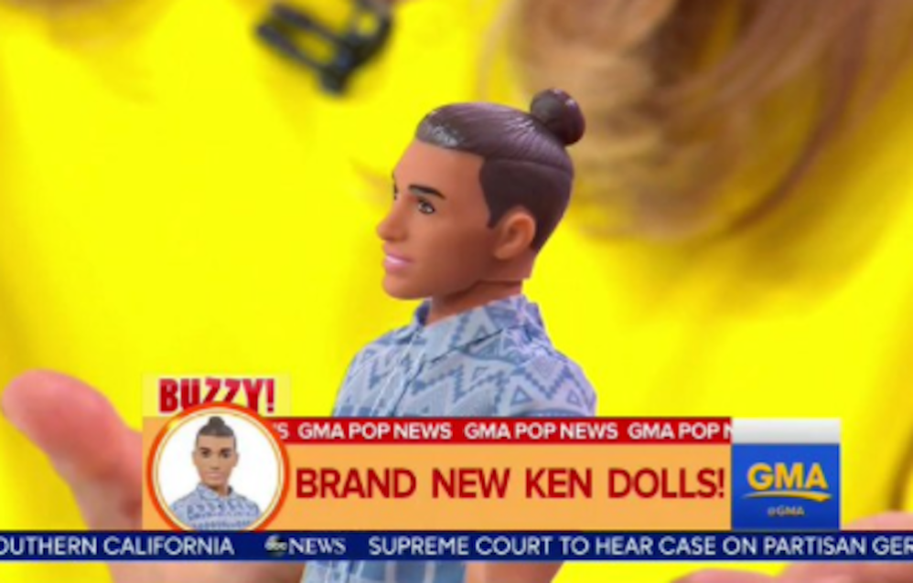 Man Bun Ken Doll Proves The Apocalypse Is Nigh