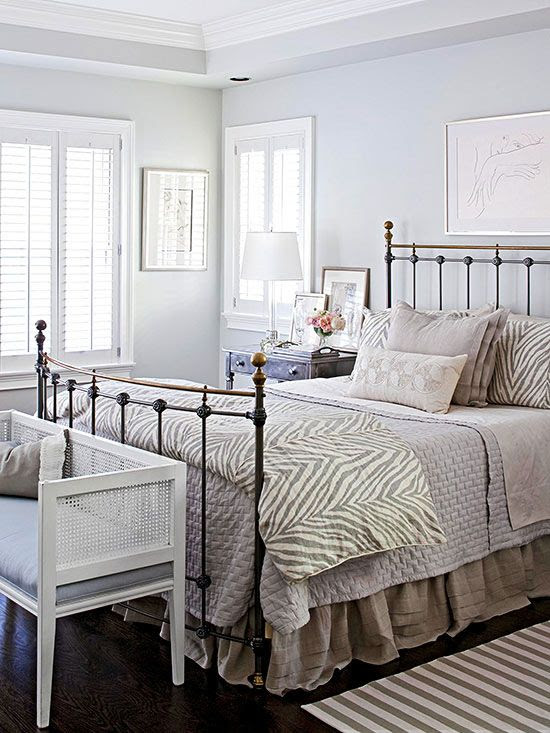 Different textures in this bright white bedroom make a beautiful statement: http://www.bhg.com/rooms/bedroom/color-scheme/white-bedrooms/?socsrc=bhgpin021214patternpersonality&page=9