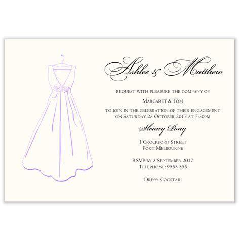 Budget Wedding Invitations Template Engagement Bridal