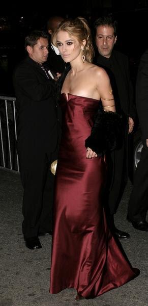 Keira Knightley in Pride and Prejudice New York Premiere - Arrivals