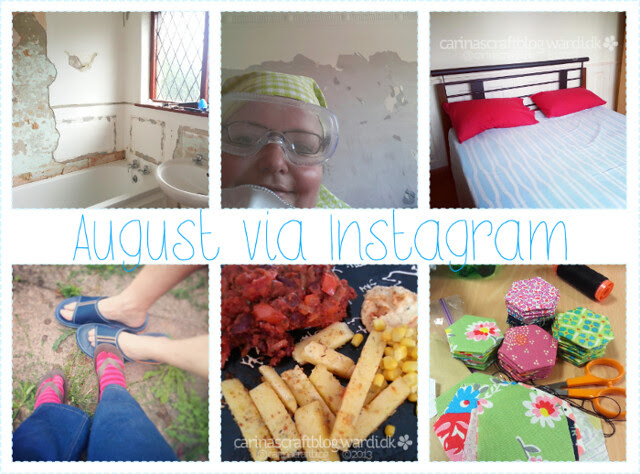 August 2013 on Instagram