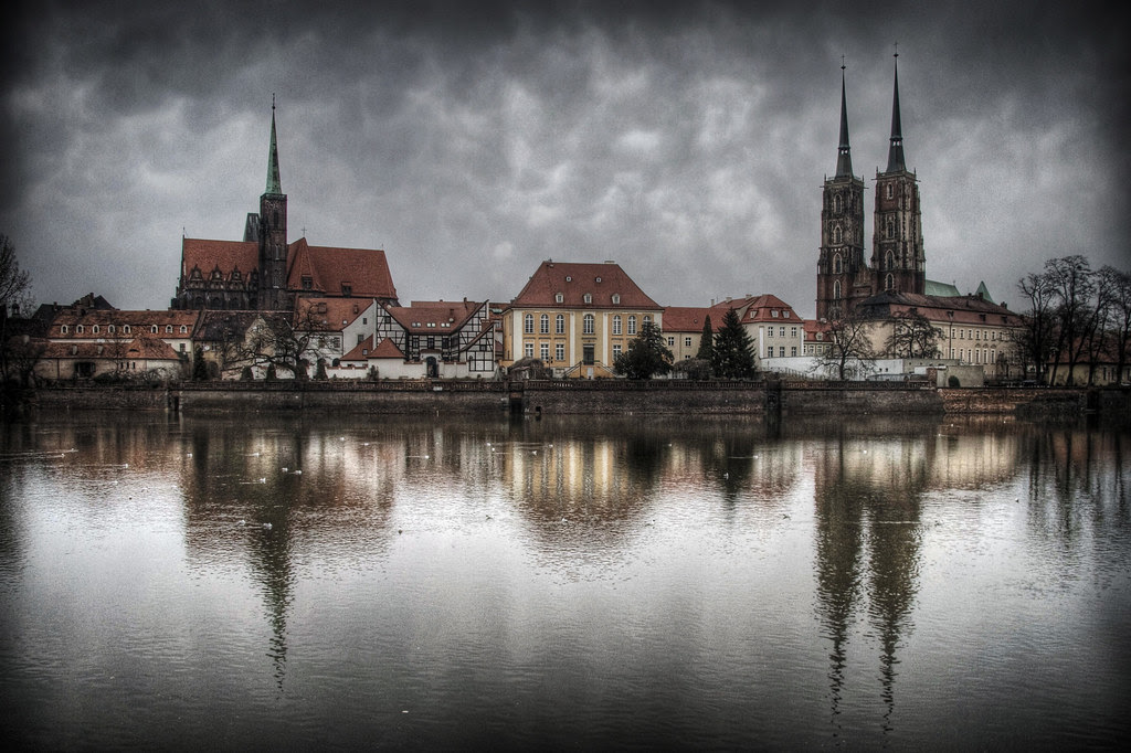 wroclaw: the waterfront