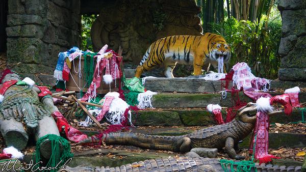 Disneyland Resort, Disneyland, Adventureland, Jungle Cruise, Jingle Cruise, 2014