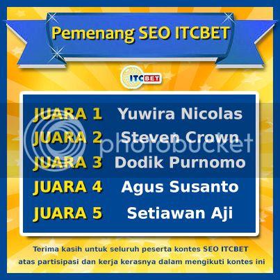 Pemenang Kontes SEO ITCBET.com