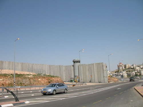 The wall, leaving Jerusalem.