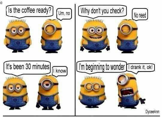 Funny Good Morning Minions Quote Pictures Photos And Images For