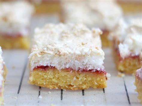 LOUISE CAKE SLICE ? A MUST TRY NZ TREAT!   What Sarah Bakes