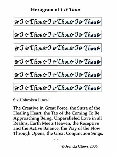 Hexagram of I & Thou