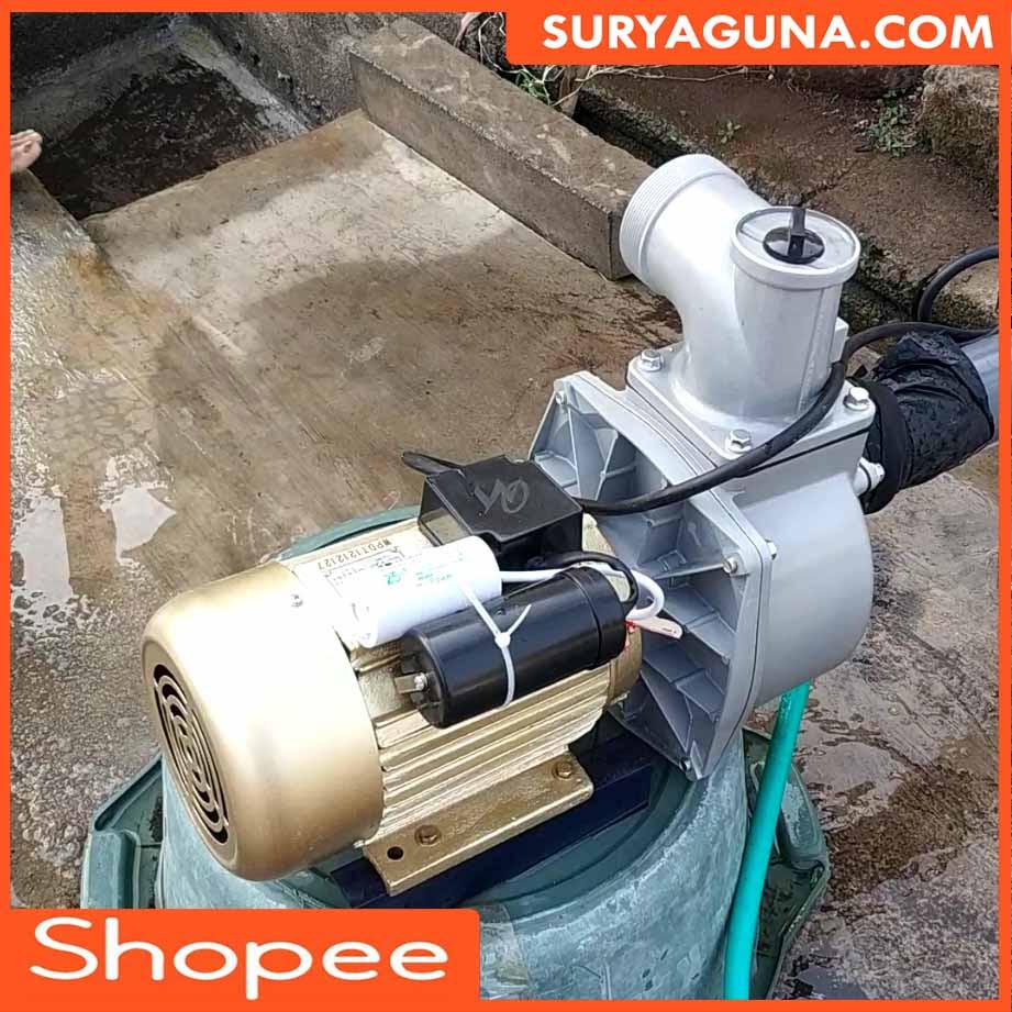 Pompa Air Listrik JET 1000 Pengganti Diesel | SuryaGuna ...