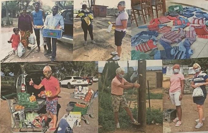 Minne en Dixy Veenstra na drie maanden gedwongen verblijf terug uit Zuid-Afrika