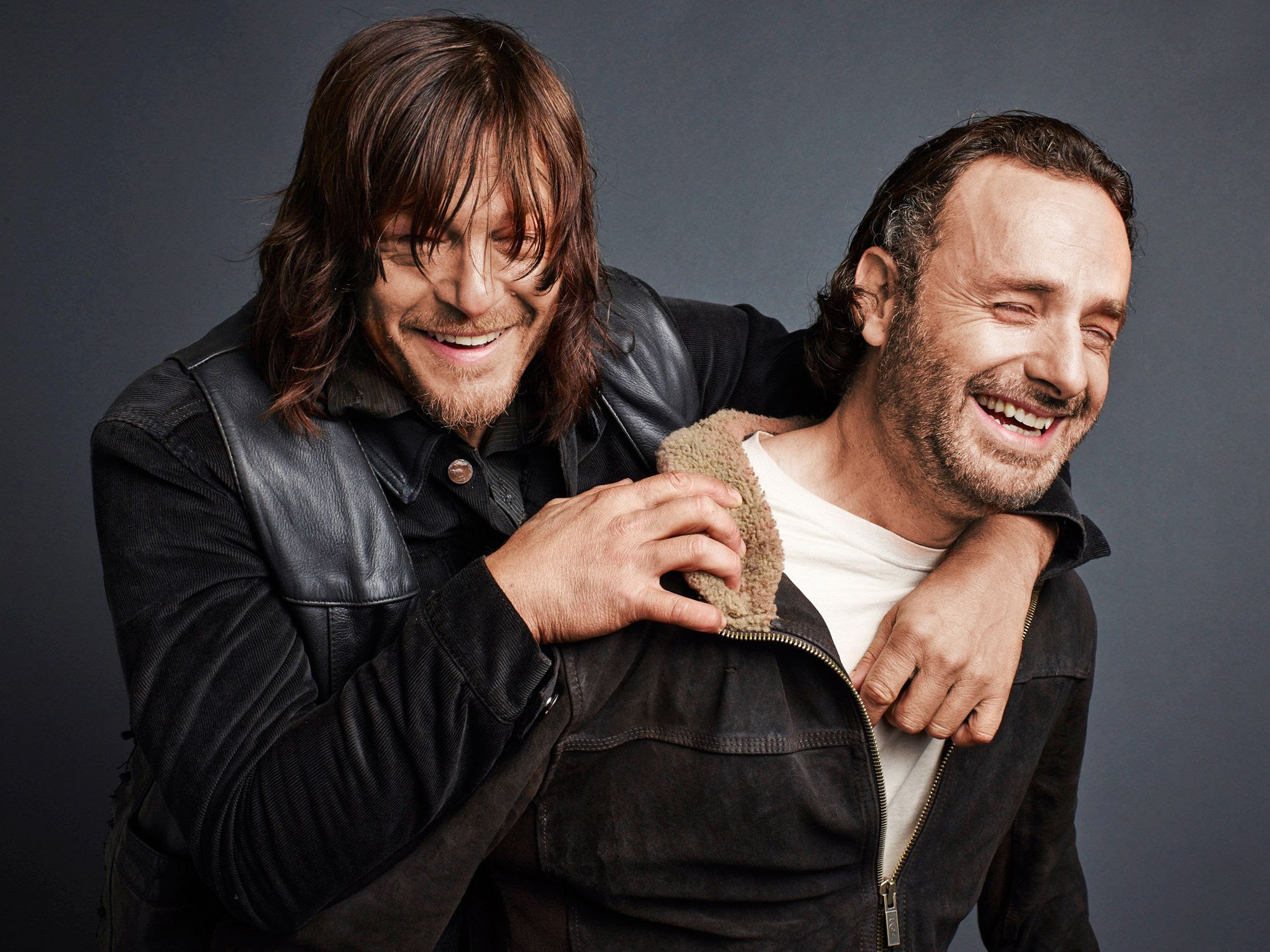 HQ Images 4 U: Norman Reedus & Andrew Lincoln - TV Guide ...