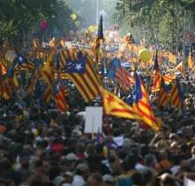 Primer aniversari del dia que Catalunya va dir 'ja n'hi ha prou'