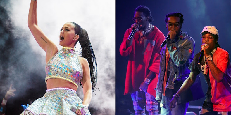 KATY PERRY AND MIGOS ANNOUNCE NEW SONG. ''BON APPETIT''