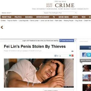 O chinês Fei Lin (Foto: Reprodução)