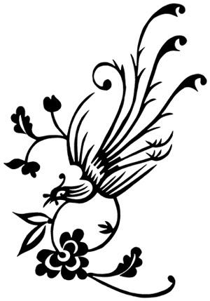 Phoenix Tattoo by tsuyachan with tribal concept tattoo art design