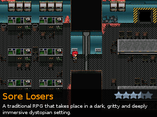 Sore Losers, an indie RPG game for RPG Maker 2000