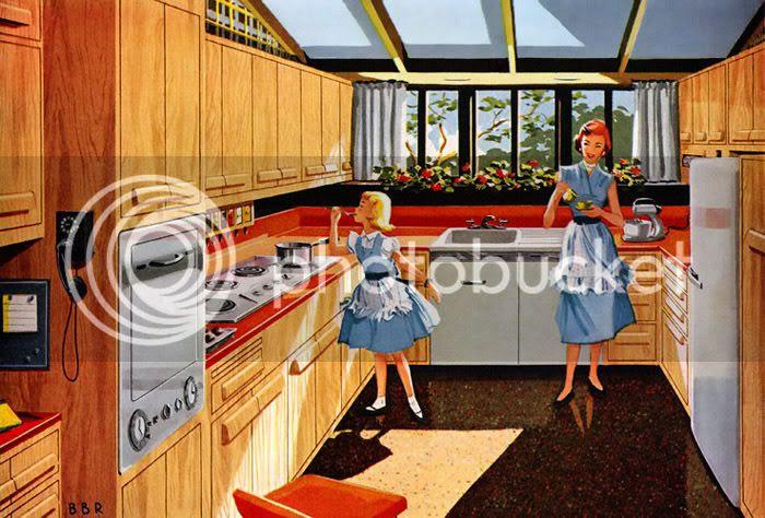 A Utopian kitchen.