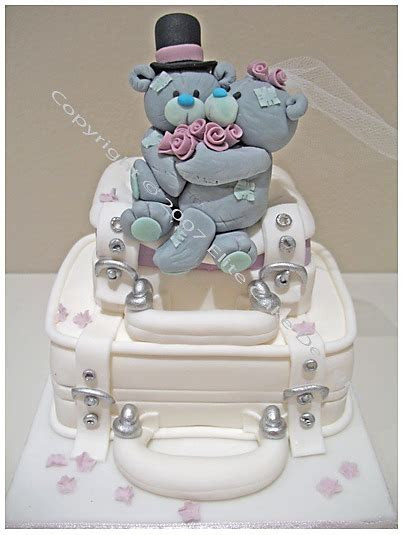 Me To You Teddies Wedding Novelty Cake by EliteCakeDesigns