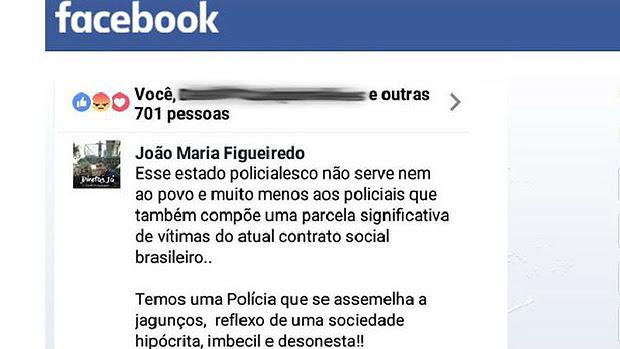 Soldado punido por 'desrespeitar instituição' disse à BBC Brasil que 'nossa conduta tem reflexos diretos no tratamento ao povo': 'Um pm que dorme em ambiente inóspito, que come mal, que é mal tratado, é uma bomba prestes a estourar em cima do povo'