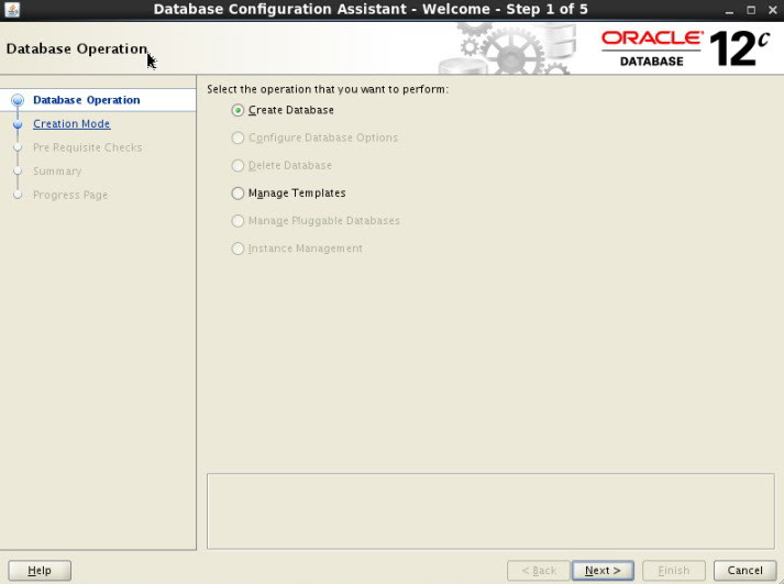 Oracle 12c installation on Linux 6 OS