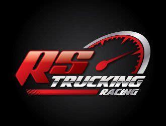 rs trucking racing  team rs trucking logo design