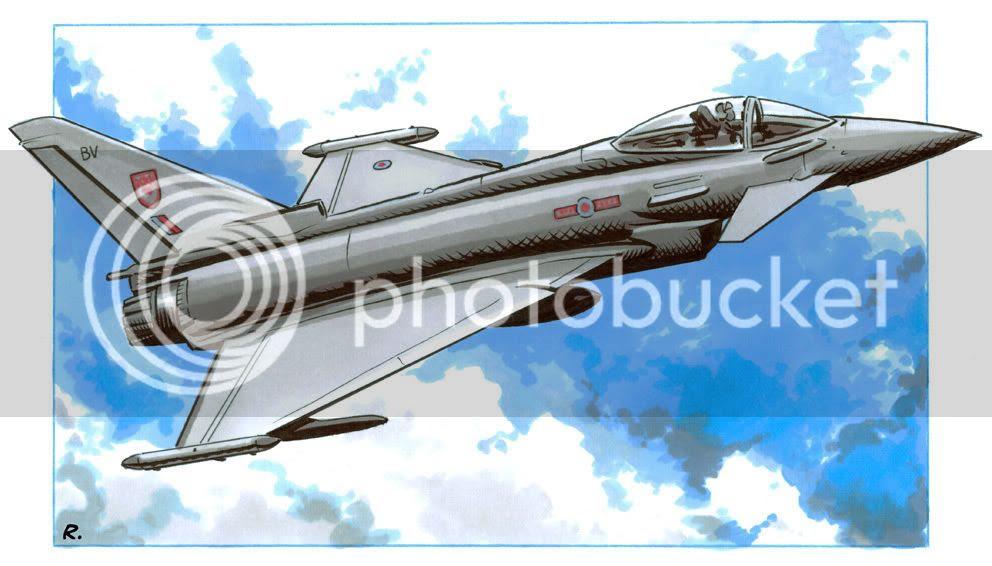 Eurofighter,Illustration,Graeme Neil Reid