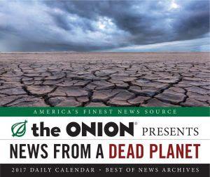 Booktopia - Daily Calendar 2017 by The Onion. Buy Calendars ...