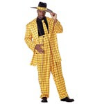Zoot Suit (Yellow) Adult Costume